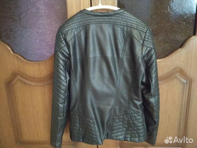 Куртка кожзам 89807465040 купить 2
