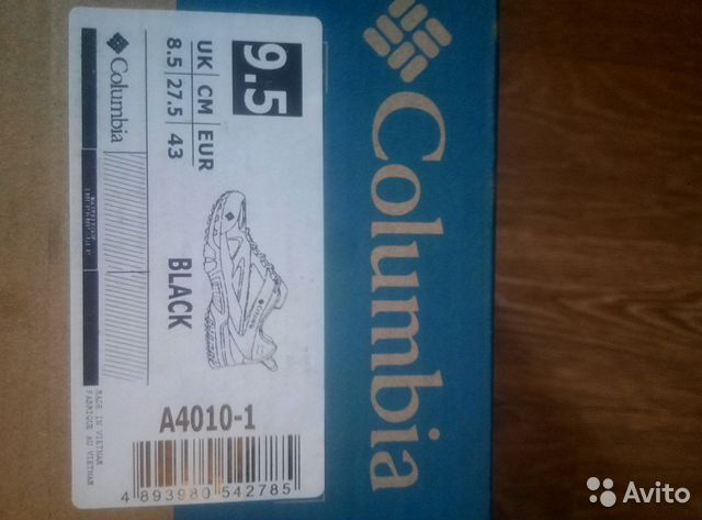 Продам кроссовки коламбиа  89960020350 купить 5