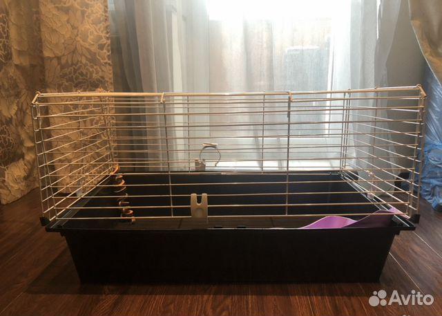 Клетка для морской свинки, кролика ferplast