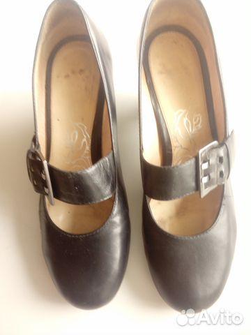 Туфли кожаные с ремешком. Эконика.Ria Rosa.36р-р 89117015256 купить 4