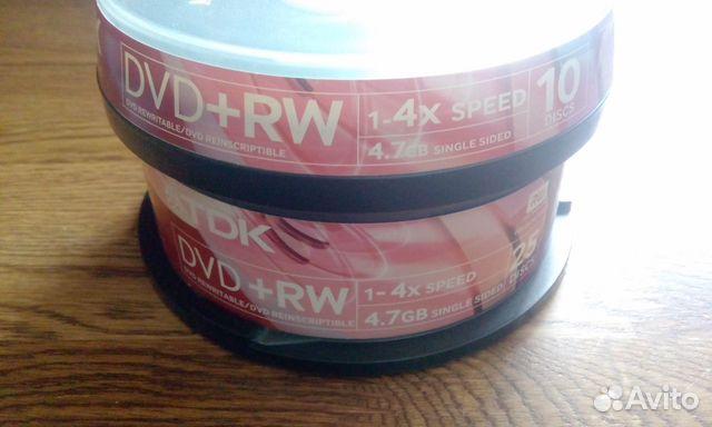 DVD-RW 35 шт