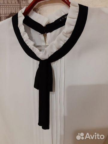 Белая блузка Lime 89275136547 купить 2