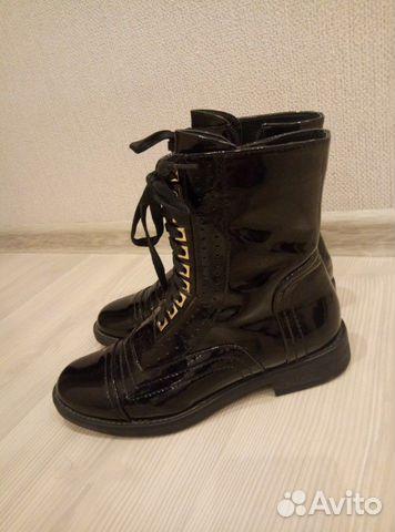 Ботинки женские, размер 38. В отличном состоянии  89608558968 купить 5