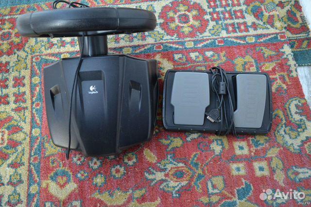 Руль с педалями Logitech 89235982756 купить 2
