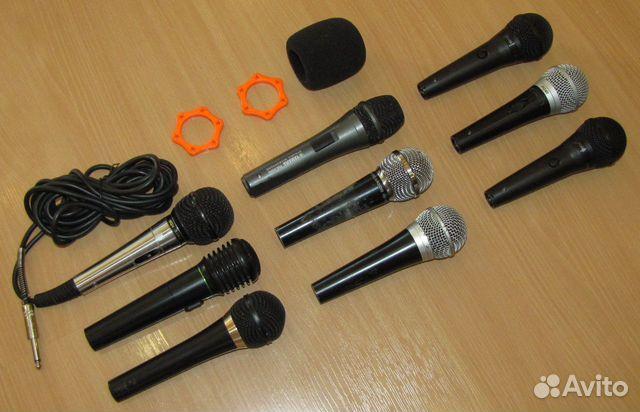 Вокальные микрофоны 9шт. Shure Yamaha Behringer купить 10