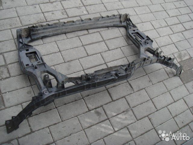 89205500007 Ауди Ку5 рамка радиатора Audi Q5 08-12