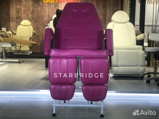 Кресло педикюрное цв. розовый 89282266618 купить 2