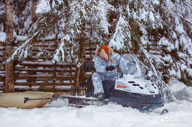 Новы снегоход Буран Лидер аде длинный купить 4