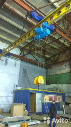 The hoist 10t, 9M (Bulgarian) buy 3