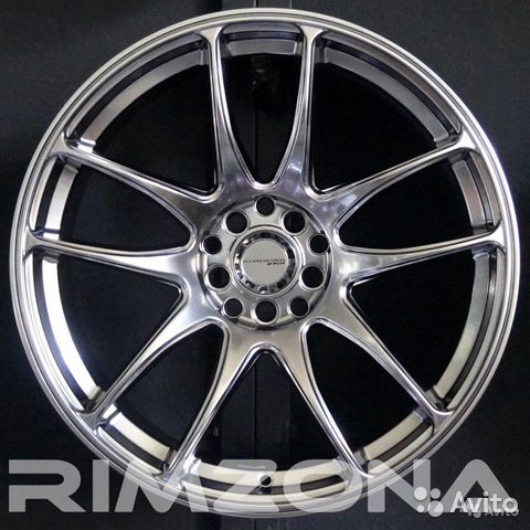 Новые диски Work CR-Kiwami на Skoda, Volkswagen 89053000037 купить 1