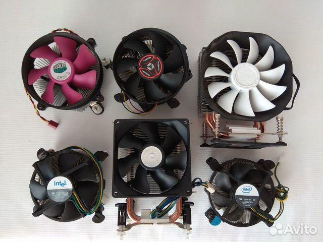 Кулер для процессора, корпусные вентиляторы