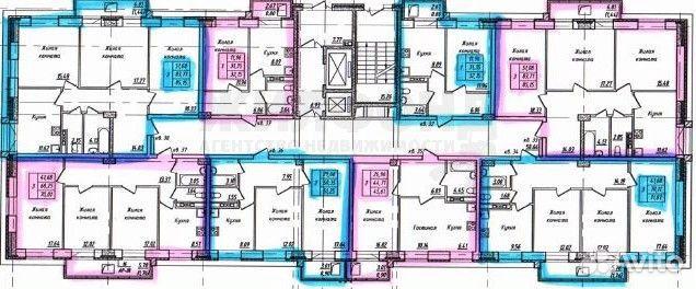 2-к квартира, 45.5 м², 8/16 эт. 89132100033 купить 4