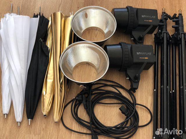 Комплект студийного света Raylab axio RX-100