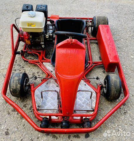 Картинг Honda Gx270 в отличном состоянии 89066239724 купить 1