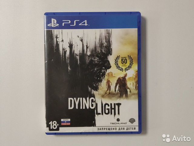 Dying light ps4  89127222794 купить 1