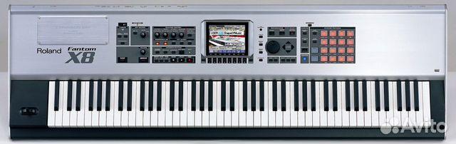 Синтезатор Roland Fantom X 8