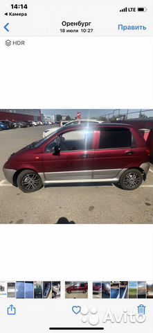 Daewoo Matiz, 2012  89058869770 купить 1
