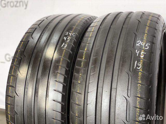 89380001718  245/45/19 Dunlop Sport Max RT