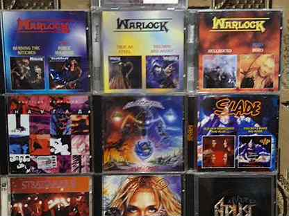CD диски рок