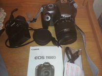 Зеркальный фотоаппарат Canon EOS 1100D — Фототехника в Москве