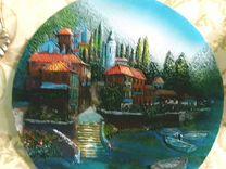 Тарелки и картины на стену из разных стран фкэр