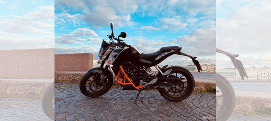 KTM duke 200 купить в Ленинградской области   Транспорт   Авито