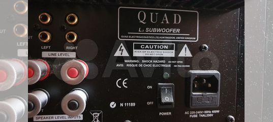 Сабвуфер Quad L2-Sub