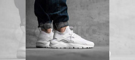 b368fc37 Кроссовки Nike Huarache мужские белые купить в Москве на Avito — Объявления  на сайте Авито