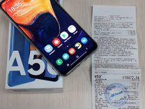 Сотовый телефон SAMSUNG Galaxy A50 blue 64GB (Идеа