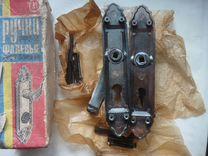 Ручки Фалевые дверные СССР, 80 г, 2 штуки