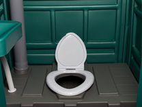 Туалет для дачи и стройки, душ