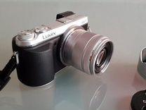 Panasonic GX7(35-100mm) Сумка.16гб.Бленда.Доп/Акб