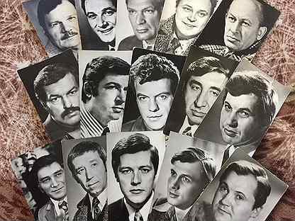 Продать старые открытки с актерами