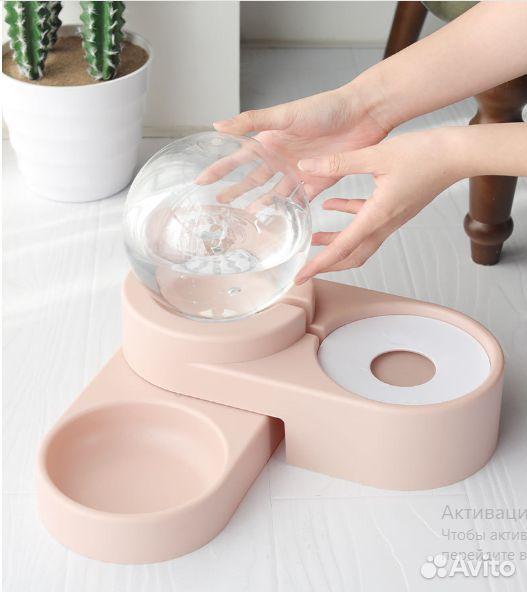 Кормушка с поилкой bowl feeder  89082849201 купить 2