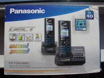Dect Panasonic KX-TG8226RU. 2 трубки