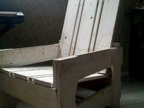 Кресло с стиле ретро из дерева