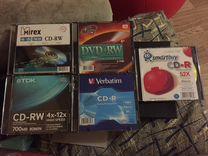Болванки cd-rw/dvd-rw/cd-r новые