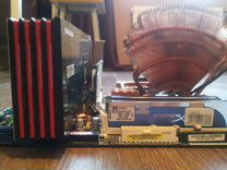 Игровой пк Intel Extr QX6850 3ггц 8Гб Ram R 6950