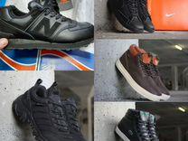 Кроссовки мужские зимние новые, ботинки зимние нов