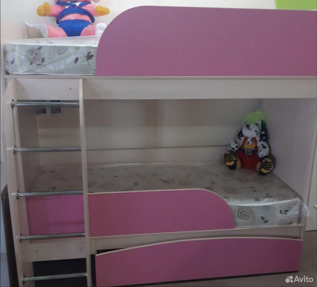 Кровать двухярусная  89021256875 купить 1