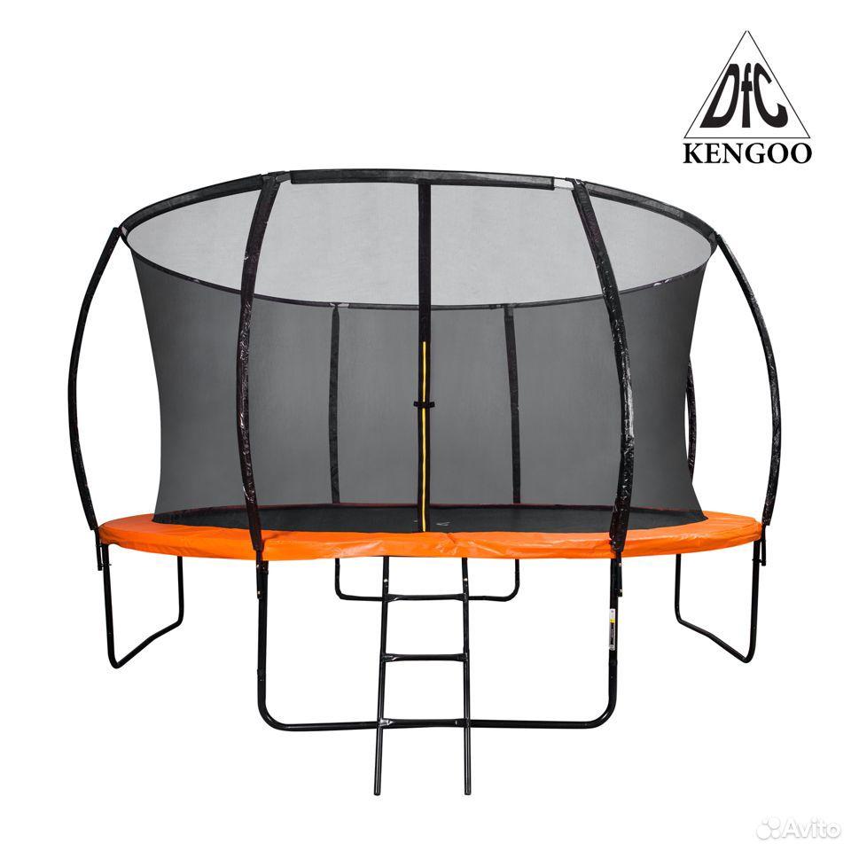 Батут DFC trampoline kengoo II С сеткой 12FT-BAS-B  89016083584 купить 1