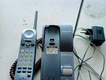 Телефон Panasonic KX-TC1205RUF