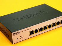POE коммутатор 8 портов D-link DGS-1100-08P