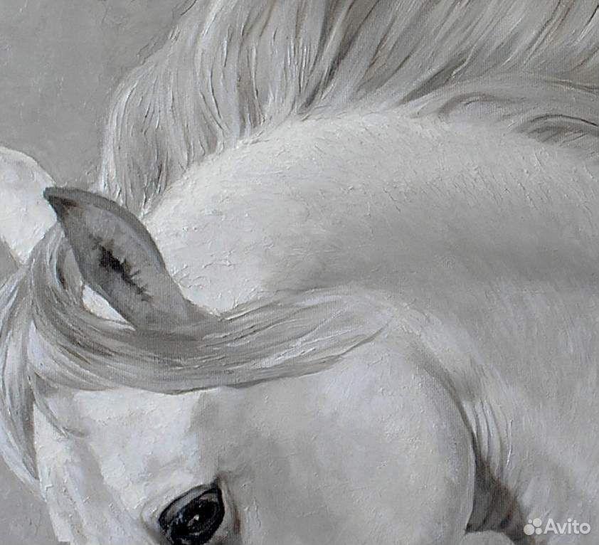 Картина с лошадью маслом на холсте 89139358050 купить 3