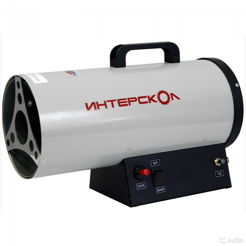89124002166  Тепловая пушка газовая интерскол тпг-10
