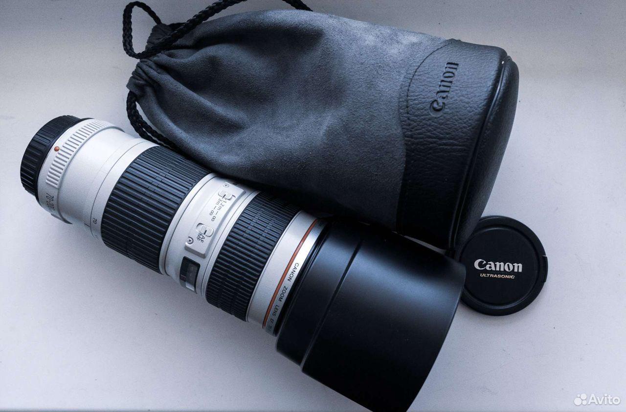 Объектив Canon 70-200 f4  89149047200 купить 1