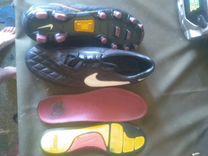 Бутсы,Nike 10 Ronaldinho (Кожа) оригинал (без торг