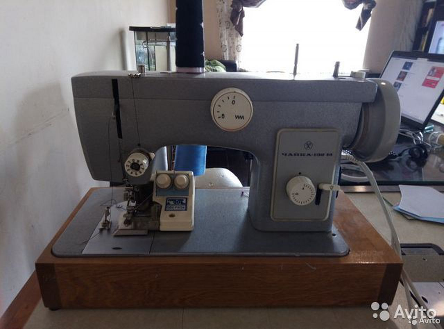 Швейная машина + оверлок, как новые, настроены  89107311116 купить 1