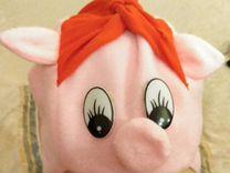 Шапка свинка Нюша