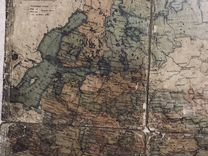 Карта Европейской России 1901 года